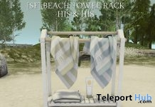 Beach Towel Rack His & Hers Group Gift by Shutter Field - Teleport Hub - teleporthub.com