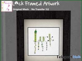 Luck Floating Frame Artwork Subscriber Gift by cute as f*ck - Teleport Hub - teleporthub.com