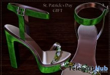 Sandra Heels St. Patrick's Day Gift by ChicChica - Teleport Hub - teleporthub.com