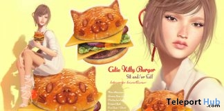 New Release: Cutie Kitty Hamburger Set by Black Bantam - Teleport Hub - teleporthub.com