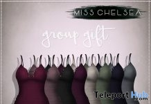 Hali Dress Group Gift by Miss Chelsea - Teleport Hub - teleporthub.com
