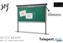 Notice Board Subscriber Gift by Soy - Teleport Hub - teleporthub.com