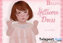 Kitticorn Dress For Toddleedoo Body March 2017 Group Gift by Buglets - Teleport Hub - teleporthub.com