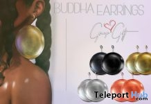 Buddha Earrings Group Gift by A Breakfast Convo - Teleport Hub - teleporthub.com