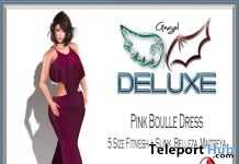 Pink Boulle Dress Group Gift by Angel DELUXE - Teleport Hub - teleporthub.com