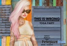 Toga Party Dress Salmon Group Gift by THIS IS WRONG - Teleport Hub - teleporthub.com