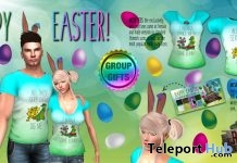 Easter T-Shirt For Men and Women And Bunny Ears Group Gift by The Rajun Cajun - Teleport Hub - teleporthub.com
