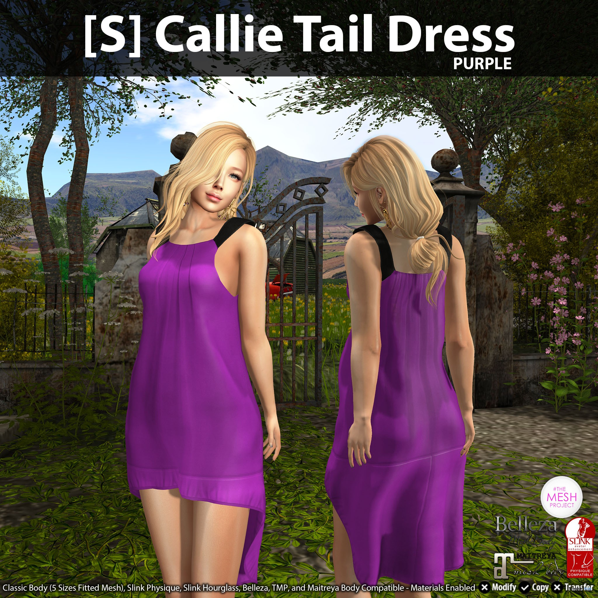 New Release: [S] Callie Tail Dress by [satus Inc] - Teleport Hub - teleporthub.com