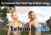 New Release: [S] Summer Hot Tank Top & Short Jeans by [satus Inc] - Teleport Hub - teleporthub.com