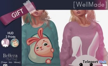 Jessica Bunny Outfit Group Gift by [WellMade] - Teleport Hub - teleporthub.com