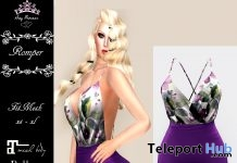 Spaghetti Rompers Purple Group Gift by Sexy Princess - Teleport Hub - teleporthub.com
