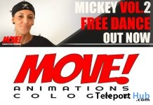 Mickey 34 Dance Gift by MOVE! Animations Cologne - Teleport Hub - teleporthub.com