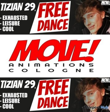 Tizian 16 Dance Gift by MOVE! Animations Cologne - Teleport Hub - teleporthub.com