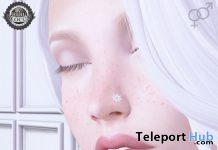 Spring Nose Stud April 2017 Group Gift by Ama. - Teleport Hub - teleporthub.com