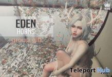 Eden Horns Group Gift by Nana - Teleport Hub - teleporthub.com
