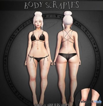 Body Scrapies With Omega Applier Gift by Asteroidbox - Teleport Hub - teleporthub.com