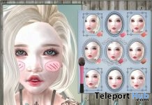 Cute Powder Flush Gift by NS - Teleport Hub - teleporthub.com