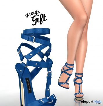 K. Snorkel Blue Heels Group Gift by Gos Boutique - Teleport Hub - teleporthub.com