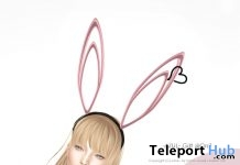 Bunny Headband On9 Event April 2017 Group Gift by AZUL - Teleport Hub - teleporthub.com