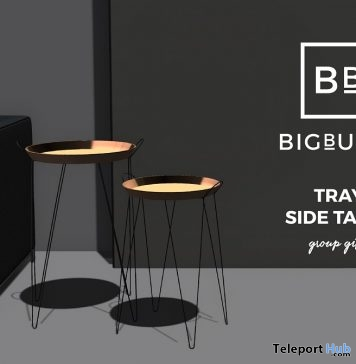 Tray Side Table Group Gift by BIGBULLY - Teleport Hub - teleporthub.com