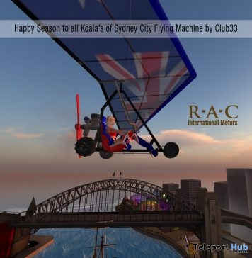 Motor Glider Sydney City Group Gift by RaC - Teleport Hub - teleporthub.com