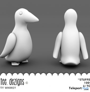 Stuffed Bird Full Perm Gift by Joolee Tee Dezigns - Teleport Hub - teleporthub.com