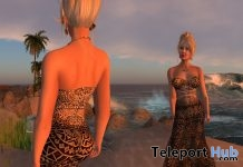Mosaic Dress with Appliers Sydney City Group Gift by PARIS Metro Couture - Teleport Hub - teleporthub.com