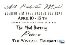 All Poets Are Mad Easter Egg Hunt - Teleport Hub - teleporthub.com