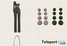 Alla Top, Xinyu Trousers, Earrings, Bags, & Sunglasses Group Gift by Rowne - Teleport Hub - teleporthub.com