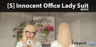 New Release: [S] Innocent Office Lady Suit by [satus Inc] - Teleport Hub - teleporthub.com