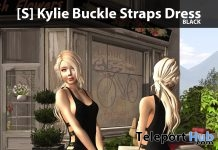 New Release: [S] Kylie Buckle Straps Dress by [satus Inc] - Teleport Hub - teleporthub.com