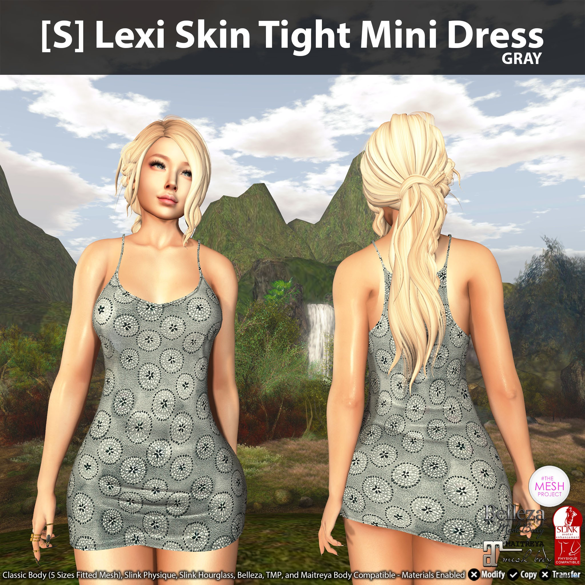 New Release: [S] Lexi Skin Tight Mini Dress by [satus Inc] - Teleport Hub - teleporthub.comNew Release: [S] Lexi Skin Tight Mini Dress by [satus Inc] - Teleport Hub - teleporthub.com