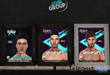 Jako, Seth, & Phil Shape for Catwa Head Group Gift by Reach - Teleport Hub - teleporthub.com