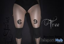 Numbers Tattoos Gift by Dirty Stories - Teleport Hub - teleporthub.com
