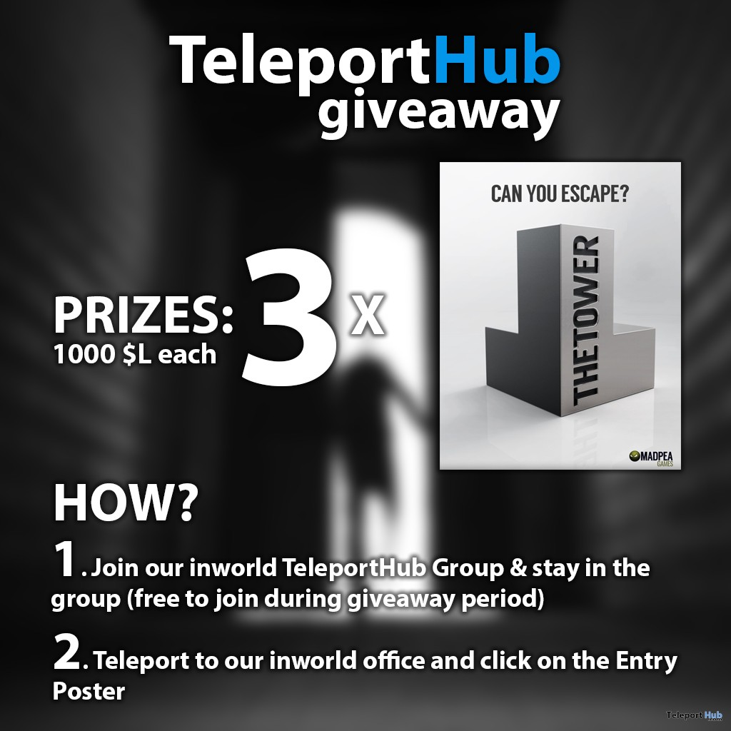 Teleport Hub's The Tower Game Giveaway - Teleport Hub - teleporthub.com