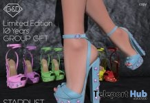 Stardust Sandals 10th Anniversary Group Gift by G&D The Italian Style - Teleport Hub - teleporthub.com