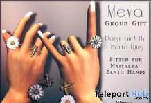 Daisy And Fly Bento Ring Group Gift by Meva - Teleport Hub - teleporthub.com