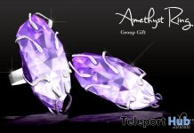 Amethyst Ring Group Gift by PiCaZZo - Teleport Hub - teleporthub.com