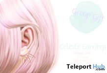 Celeste Earrings Group Gift by Sorbet - Teleport Hub - teleporthub.com