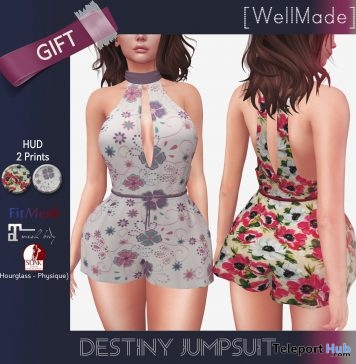 Destiny Jumpsuit Group Gift by [WellMade] - Teleport Hub - teleporthub.com