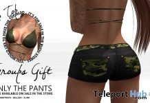 Camo Shorts Group Gift by Bijou - Teleport Hub - teleporthub.com