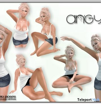 Angy Pose Set Group Gift by Zen Creations - Teleport Hub - teleporthub.com