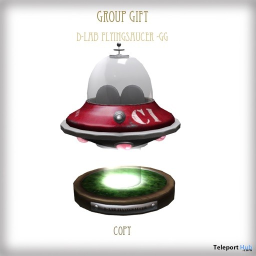 Flying Saucer Group Gift by D-LAB - Teleport Hub - teleporthub.com