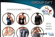Several Outfits For Men and Women Group Gift by Angel DELUXE - Teleport Hub - teleporthub.com