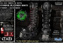 DG-650 Rock & Kick Stomper Platform Boots 50% Off Promo by Daffy's Gadgermania - Teleport Hub - teleporthub.com