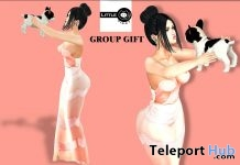 My Puppy Pose Group Gift by Little Piggy - Teleport Hub - teleporthub.com