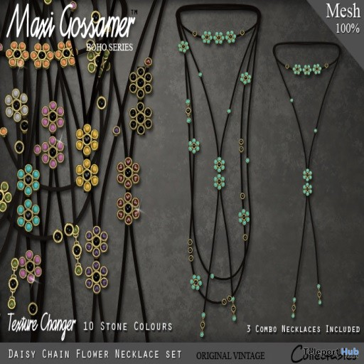 Daisy Chain Necklace Group Gift by Maxi Gossamer - Teleport Hub - teleporthub.com