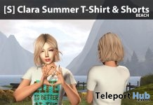 New Release: [S] Clara Summer T-Shirt & Shorts by [satus Inc] - Teleport Hub - teleporthub.com