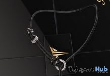 Spider Necklace L'HOMME Magazine Group Gift by RealEvil Industries - Teleport Hub - teleporthub.com