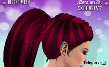 Hayla Hair Virtual Secrets Sales Room Event May 2017 Gift by EscalateD - Teleport Hub - teleporthub.com